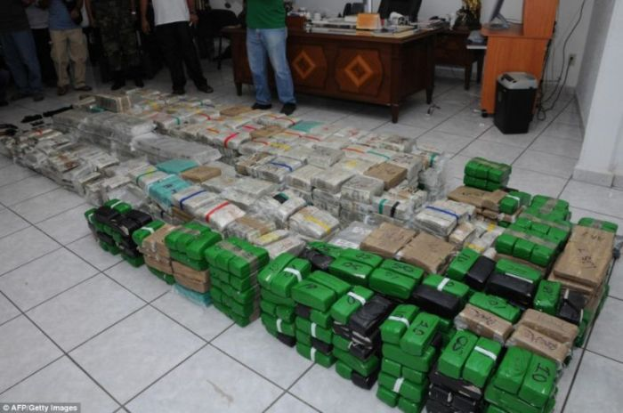 There were even stacks of Chinese Yuan found in one closet.