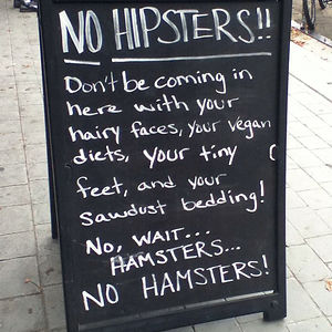 No Hipsters