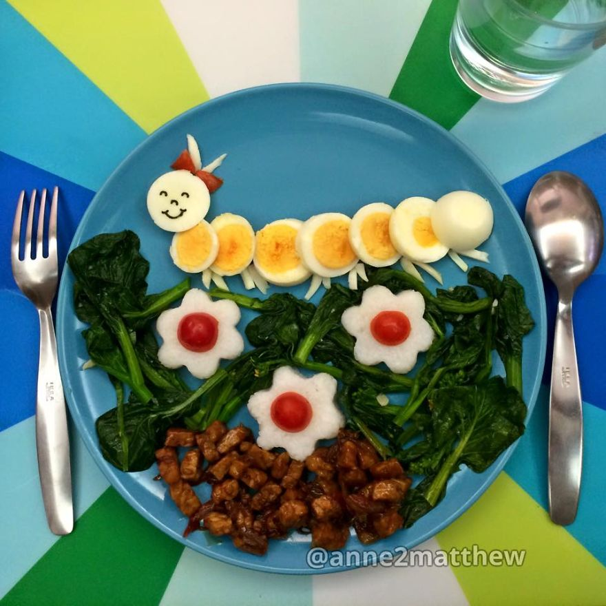 Hard Boiled Egg Designs That I Made For My Kids