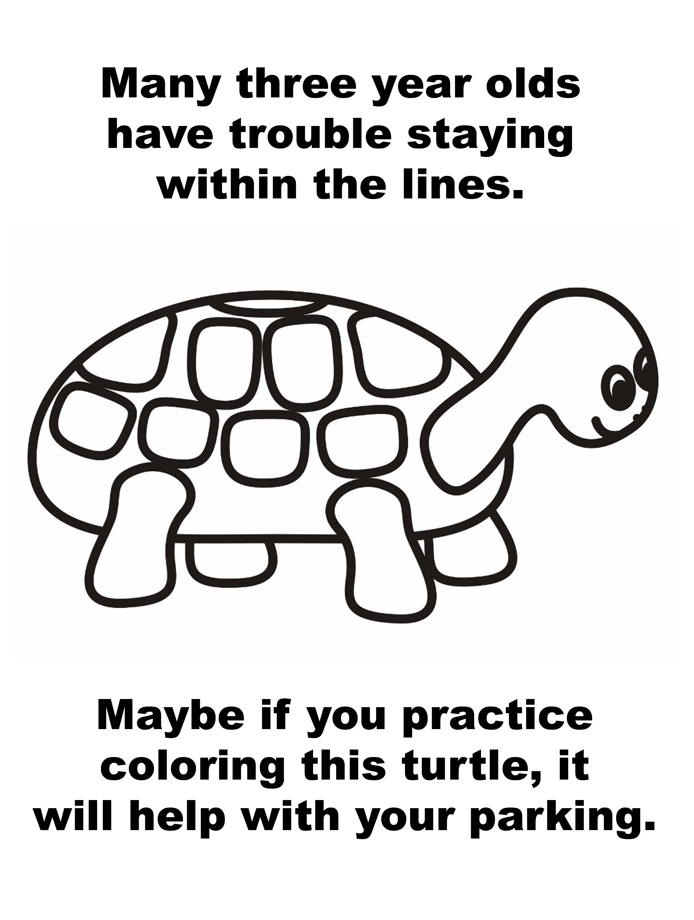 parking-ticket-turtle-coloring-line-3