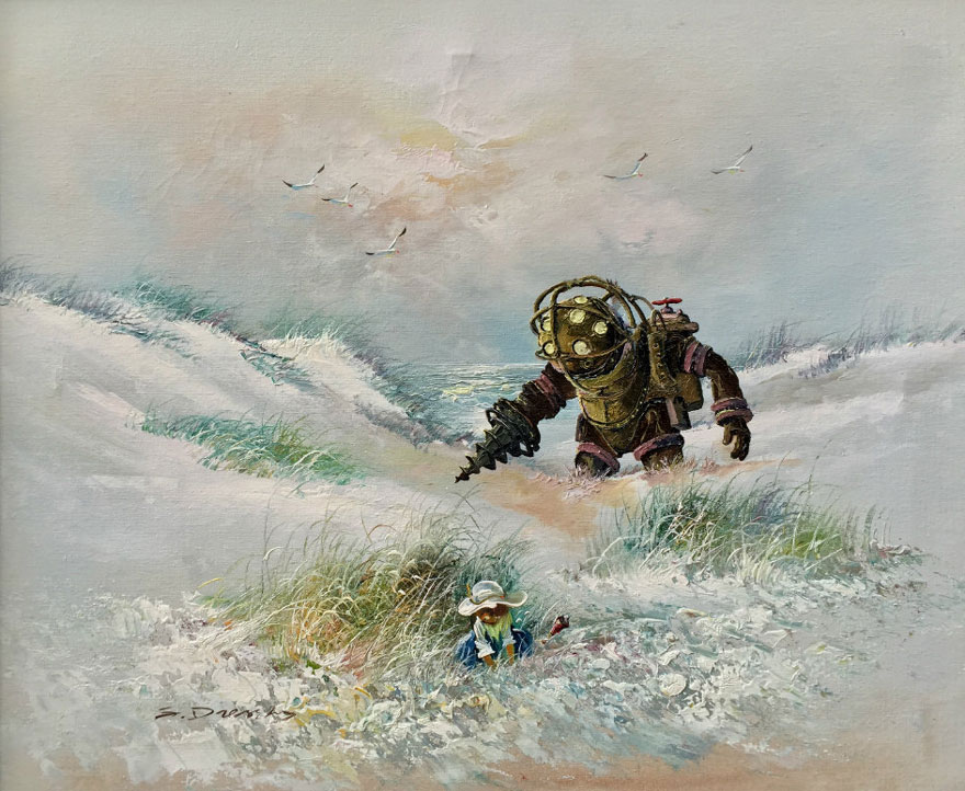 pop-culture-characters-thrift-store-paintings-dave-pollot-28