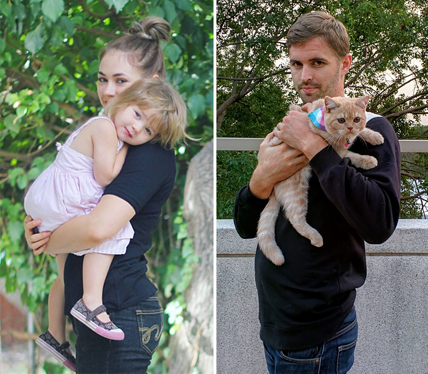 single-guy-recreates-photos-with-cat-twin-sister-gordy-yates-6