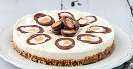 creme egg cheesecake fb