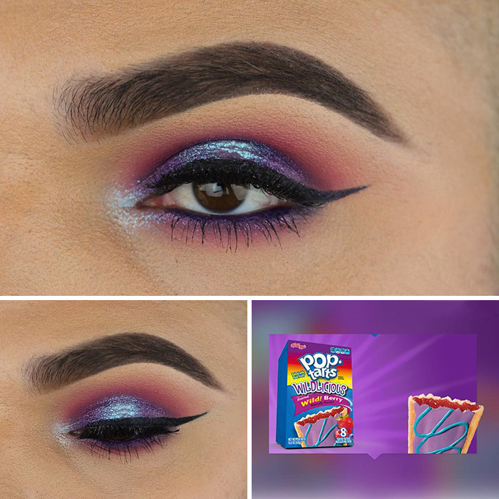 Instagrammer Perfectly Matches Makeup To His Snacks Viral Dog