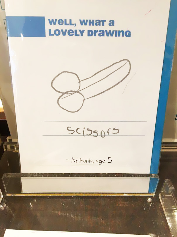 What A Lovely Drawing, Dear