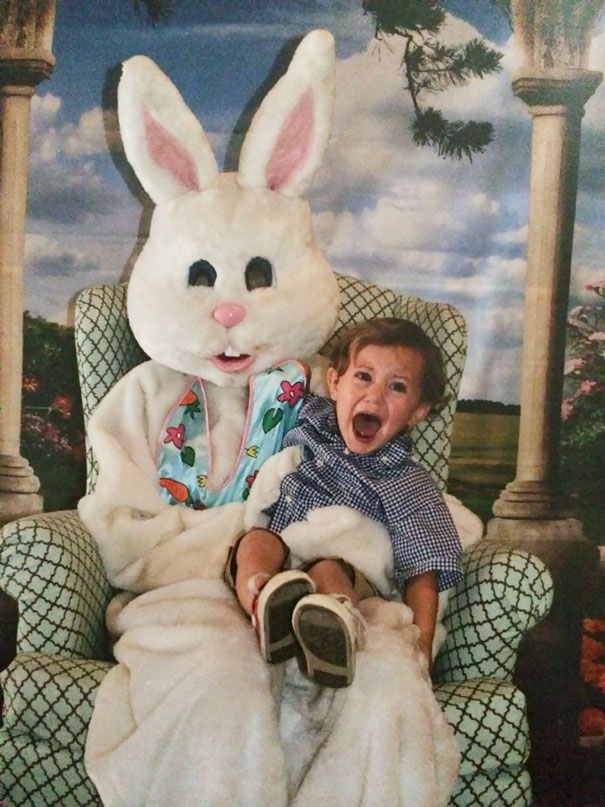 My Son's School Easter Picture