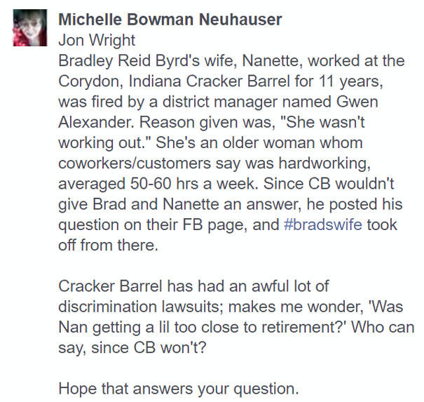 brads-wife-fired-cracker-barrel-facebook-41