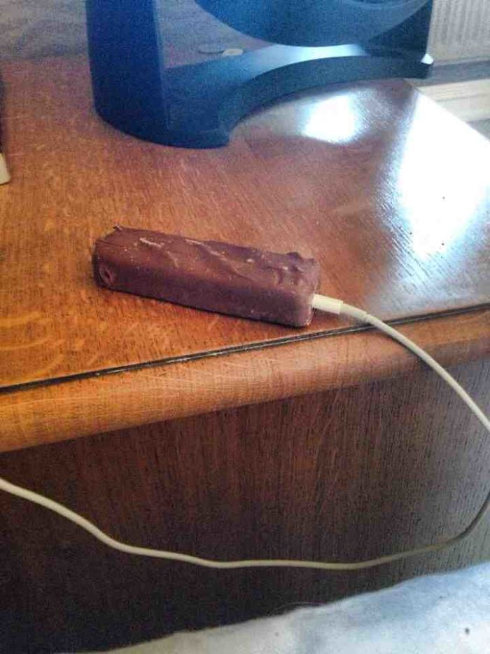 Have You Ever Been So Drunk You Mistook A Chocolate Bar For Your Phone?