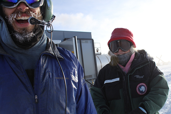 An American Scientist Was The First And Only Person Find A Match On Tinder In Antarctica