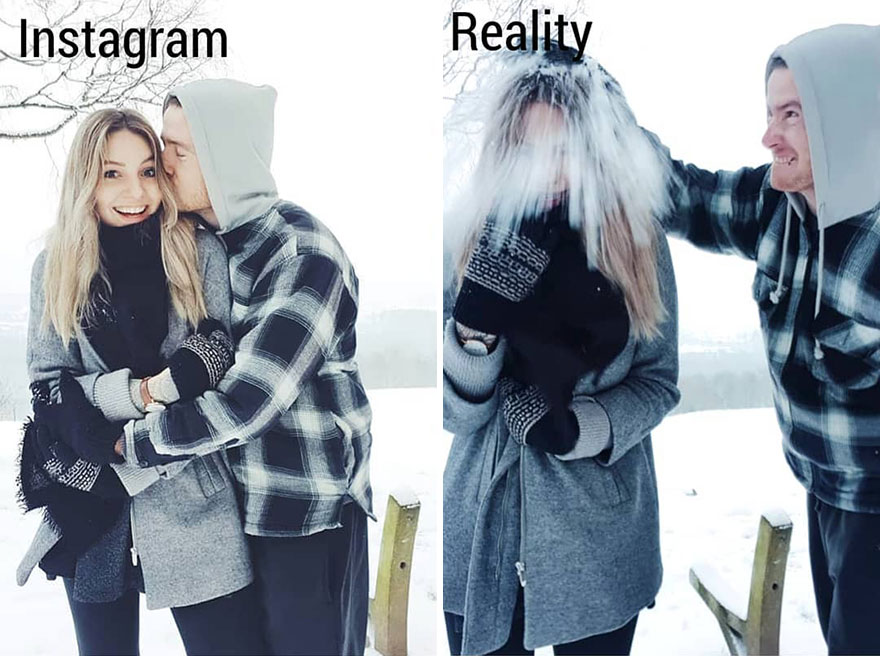 This Girl Shows In A Hilarious Way The Reality Is Different From What We See On Instagram